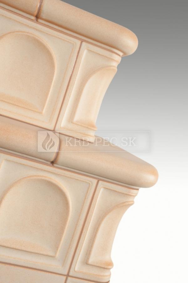 Hein BARACCA 3N keramické kachle s kvalitnou krbovou vložkou krb-pec