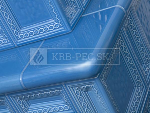 Hein BARACCA 7 keramické kachle s kvalitnou krbovou vložkou krb-pec