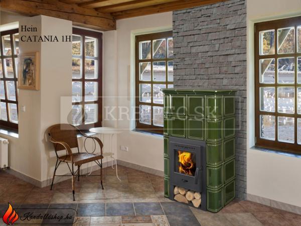 Hein Catania 1H keramické kachle krb-pec