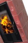 Hein Este 2 keramické krbové kachle so šamotovým ohniskom krb-pec