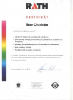 Rath certifikát - Odborný seminár - AZ DESIGN - Tibor Chudoba krb-pec