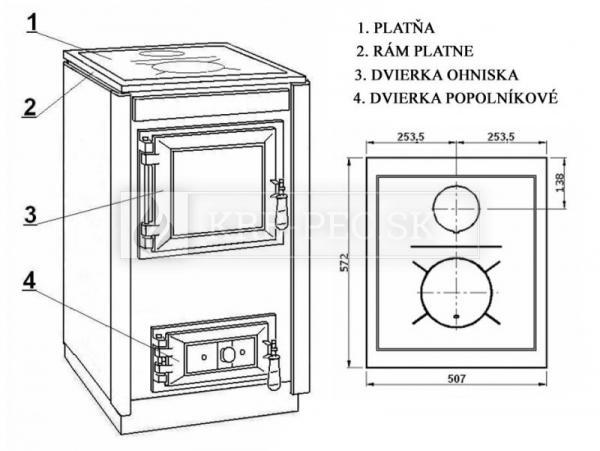 KVS Moravia SOFIA TP 9114