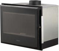 Hergóm NATURE 70 čierna krbová kazeta s termostatickým diaľkovým ovládaním