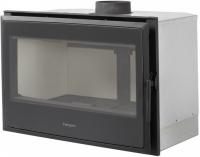 Hergóm NATURE 80 čierna krbová kazeta s termostatickým diaľkovým ovládaním