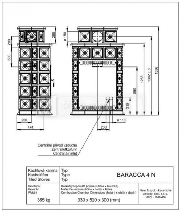 BARACCA 4N