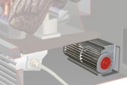 Regency ventilátor krb-pec