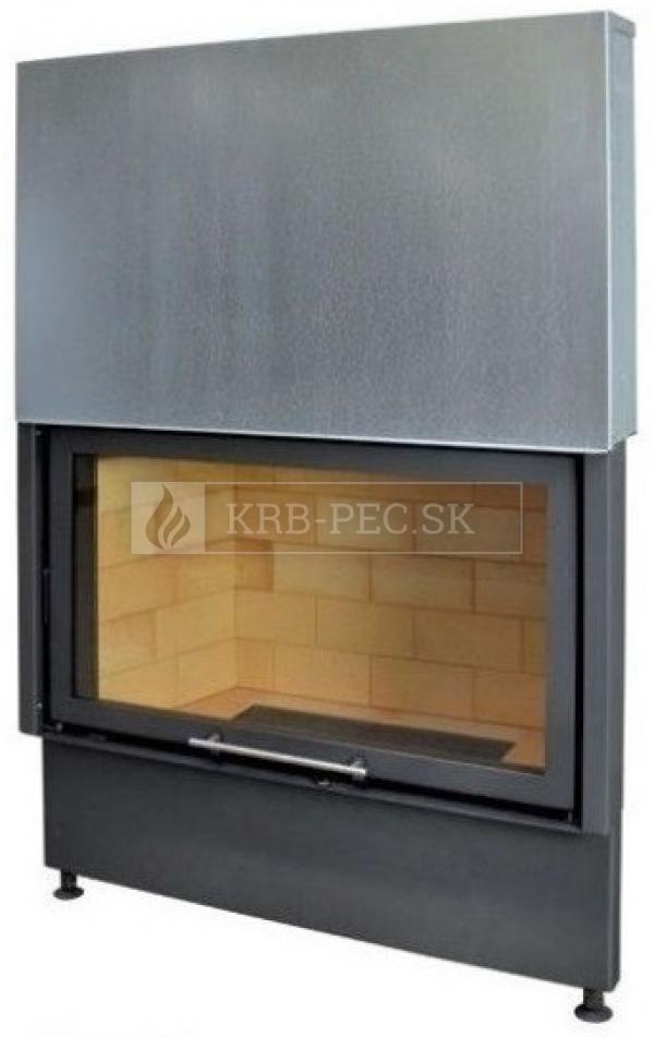 Kobok Chopok VD 1070/450 510 570 teplovzdušná krbová vložka s výsuvnými dvierkami krb-pec