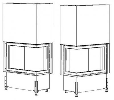 Kobok Chopok R 90 S380 VD LP 720 450 510 570 - varianty krb-pec