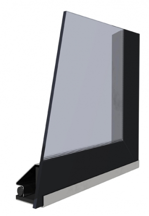 Kobok Chopok 2R90 S-380 sklo modern krb-pec
