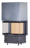 Kobok Chopok 2R90 S/500 VD 625/450 510 570 trojstranná krbová vložka s výsuvnými dvierkami krbyonline