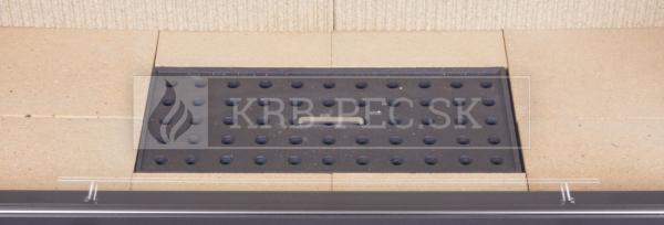 Kobok Kazeta R 90 S/380 VD L/P 650/450 510 570 rohová krbová vložka s výsuvnými dvierkami krb-pec