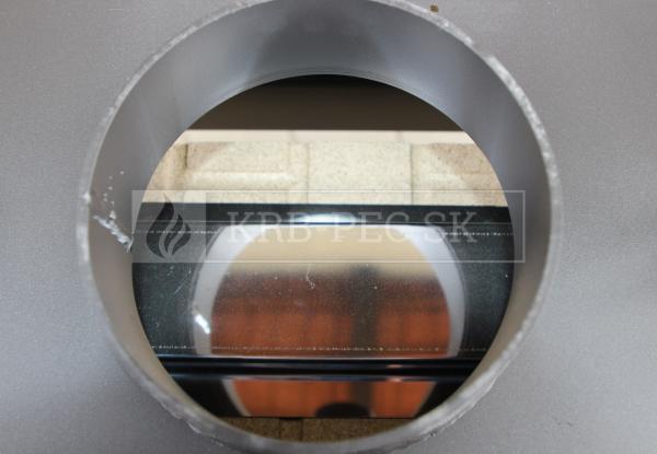 Kobok Kazeta O LD 670/510, SM, priehľadná krbová vložka krb-pec