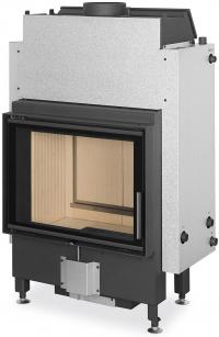 Romotop DYNAMIC WB 2g 66.50.01 teplovodná krbová vložka s dvojitým presklením a zadným prikladaním