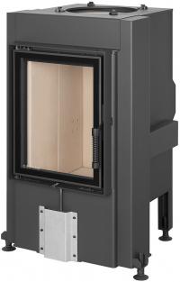Romotop DYNAMIC 3G 44.55.01 teplovzdušná pecová vložka s rovným dvojitým presklením