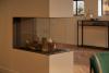 Trimline 83 Room Divider plynová krbová vložka s trojstranným presklením krb-pec