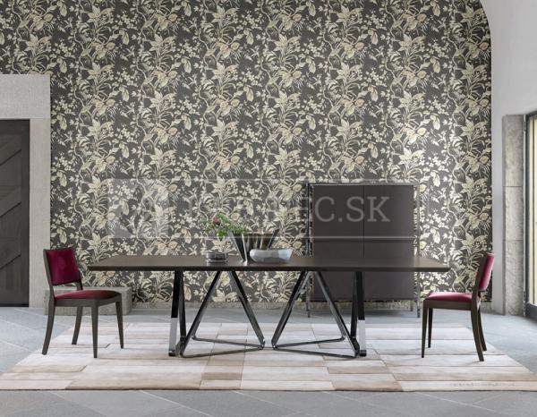 Zambaiti Parati - Trussardi Wall Decor 5 #Z21836 luxusná vliesová tapeta s vinylovým povrchom krb-pec