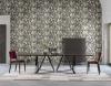 Zambaiti Parati - Trussardi Wall Decor 5 #Z21842 luxusná vliesová tapeta s vinylovým povrchom krb-pec