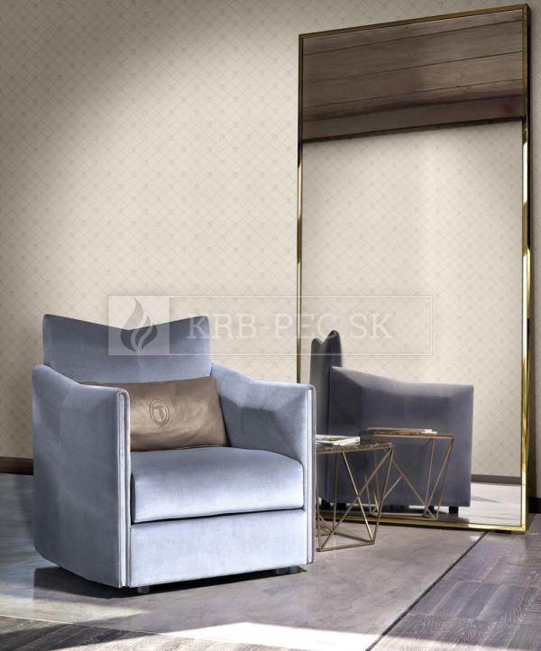 Zambaiti Parati - Trussardi Wall Decor 5 #Z21856 luxusná vliesová tapeta s vinylovým povrchom krb-pec