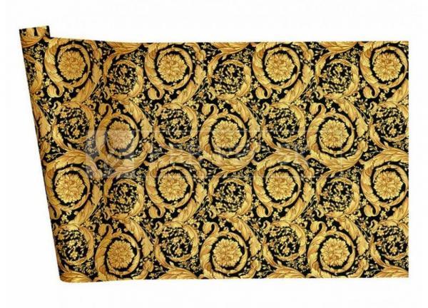 A.S. Création - Versace Wallpaper IV #93583-4 luxusná vliesová tapeta s vinylovým povrchom krb-pec
