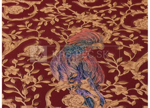 A.S. Création - Versace Wallpaper IV #37053-4 luxusná vliesová tapeta s vinylovým povrchom krb-pec