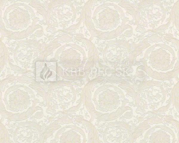A.S. Création - Versace Wallpaper IV #93583-2 luxusná vliesová tapeta s vinylovým povrchom krb-pec