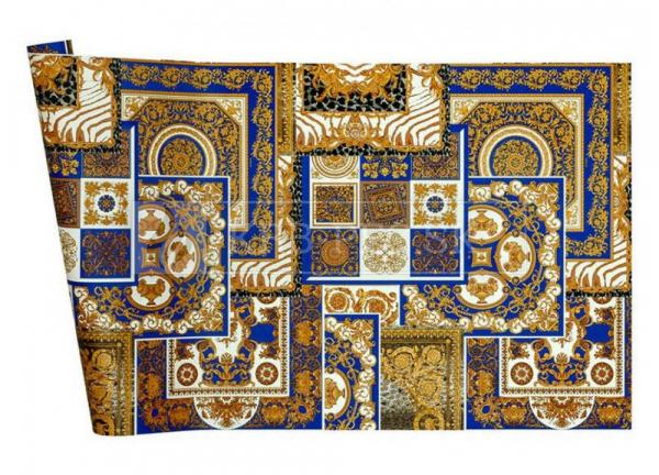 A.S. Création - Versace Wallpaper IV #37048-1 luxusná vliesová tapeta s vinylovým povrchom krb-pec