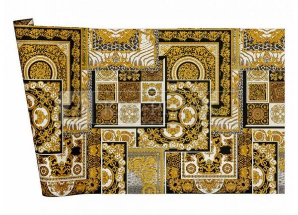A.S. Création - Versace Wallpaper IV #37048-3 luxusná vliesová tapeta s vinylovým povrchom krb-pec