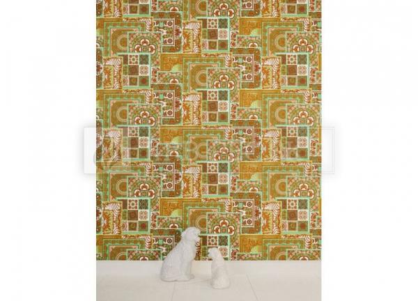 A.S. Création - Versace Wallpaper IV #37048-2 luxusná vliesová tapeta s vinylovým povrchom krb-pec