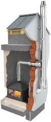 Darco - trojplášťový izolovaný nerezový komínový systém Ø 180 mm krb-pec