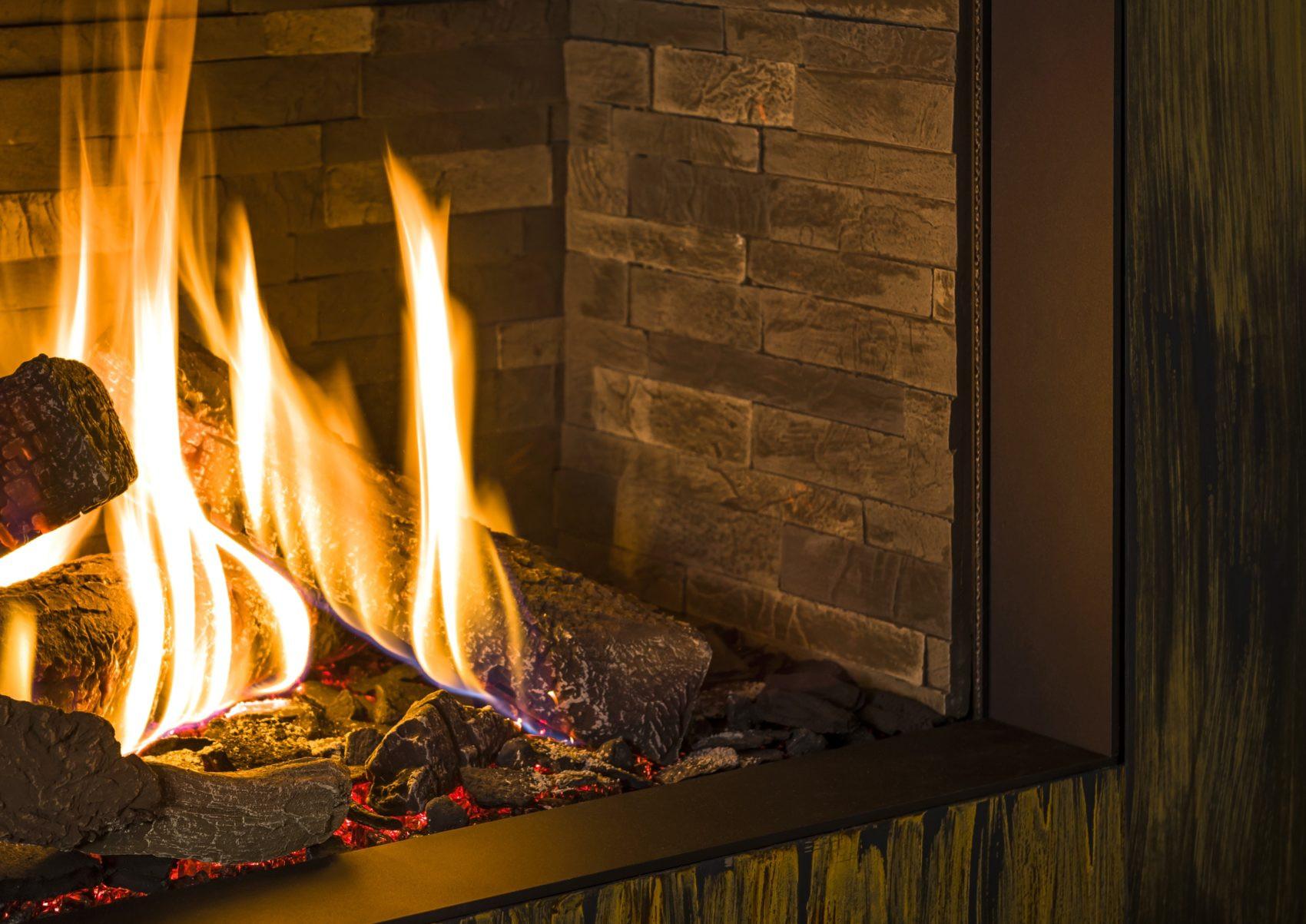 Trimline Fires - široké polená do plynového krbu krb-pec