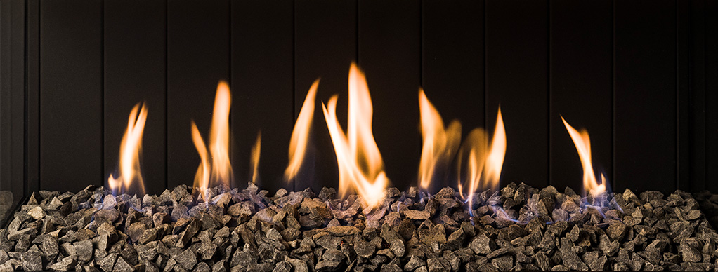 Trimline Fires - bazaltové ohnisko krb-pec