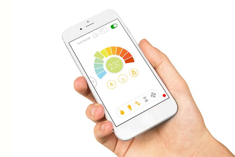 Trimline Fires - mobilná aplikácia krb-pec